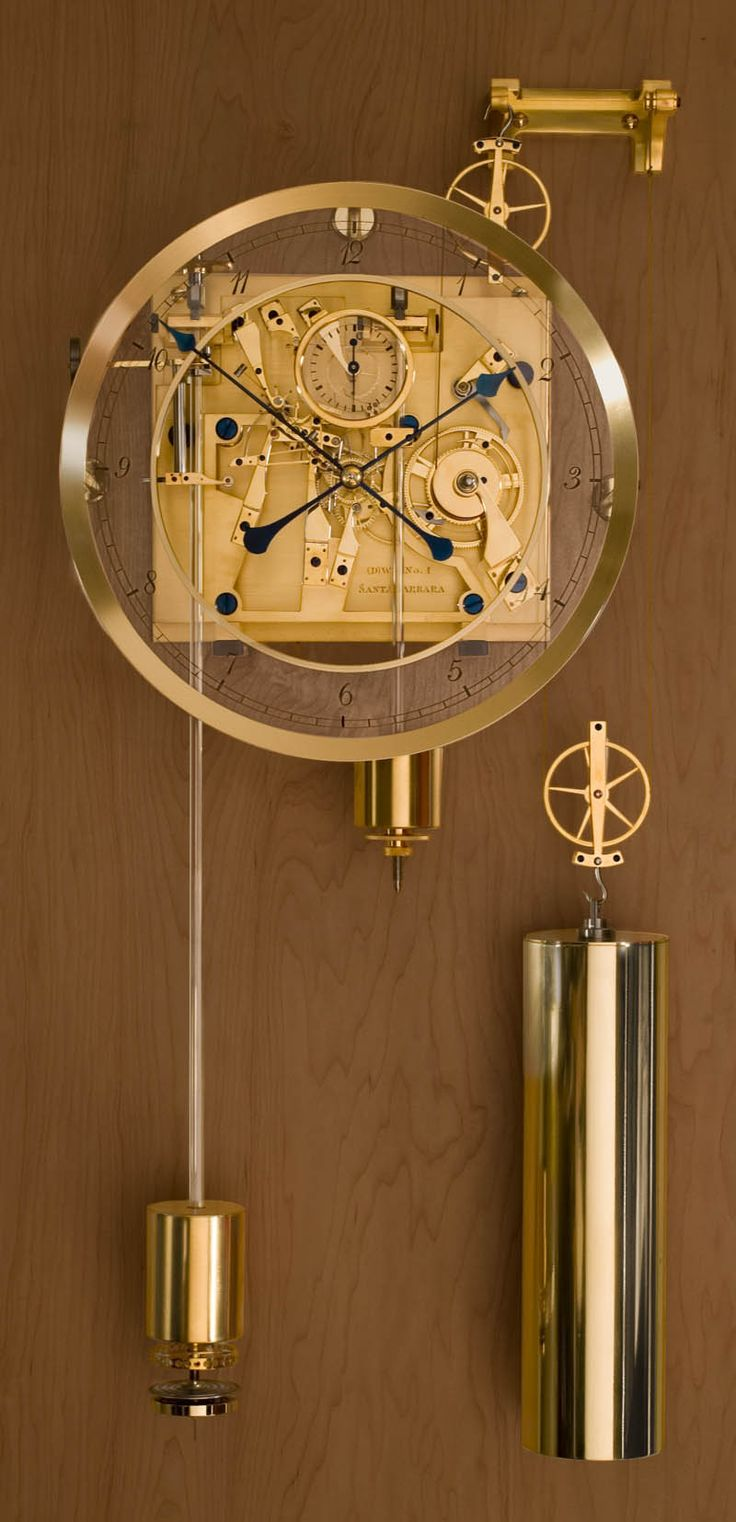 Fine wall clock by by David Walter
