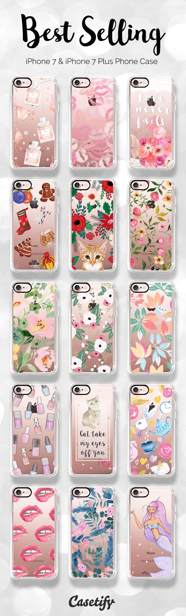 Best selling iPhone 7 and iPhone 7 Plus case right now at Casetify. Shop these designs here > https://www.casetify.com/artworks/IOwzWDNoNu
