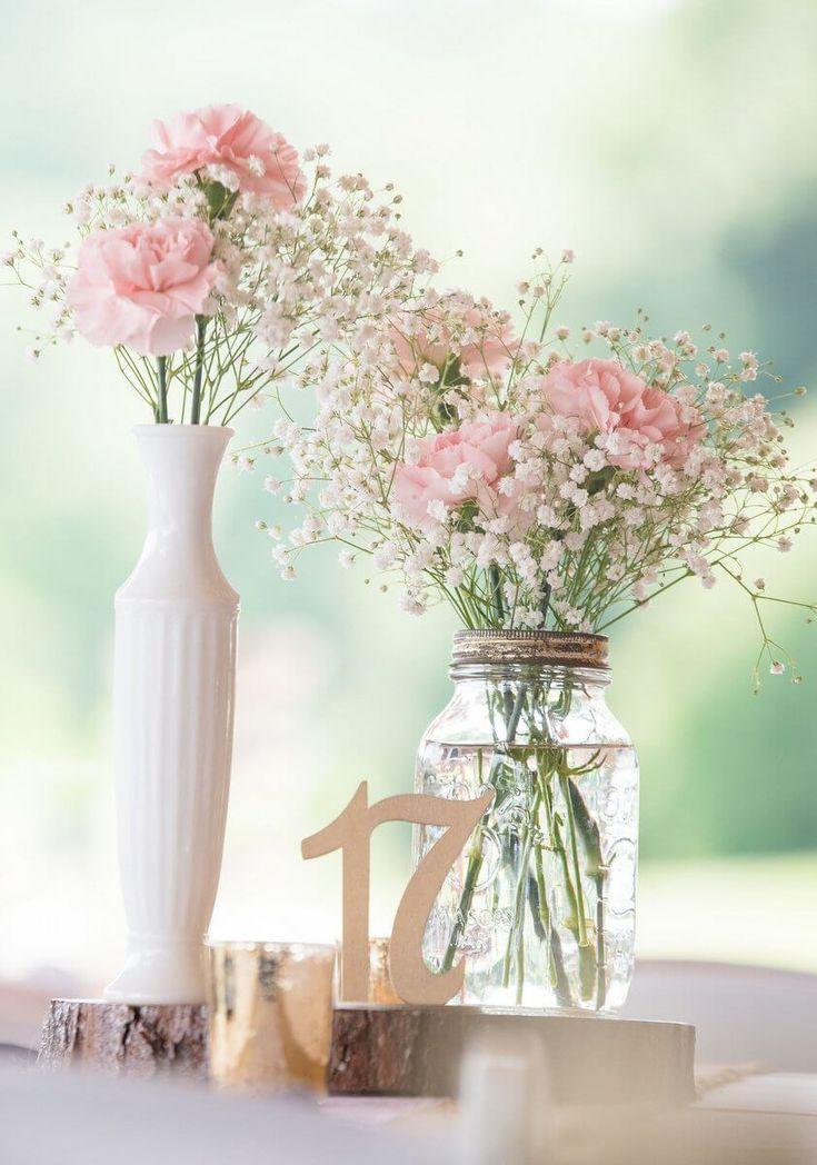 Rustikale romantische Hochzeit im Freien #freien #…