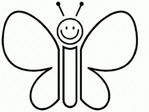 butterfly coloring pages preschool thomas - photo#18