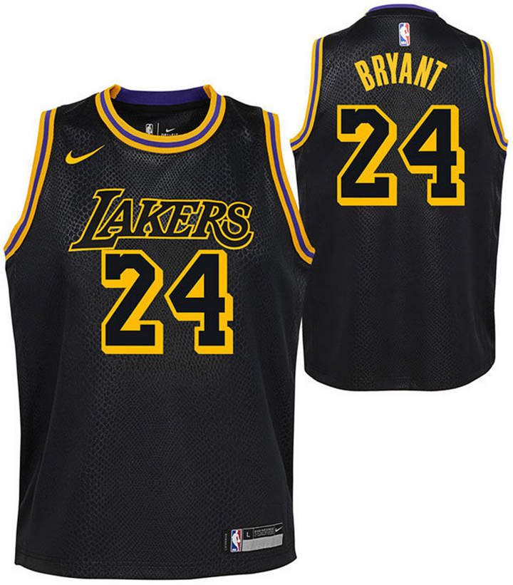 Nike Kobe Bryant Los Angeles Lakers City Edition Swingman Jersey Big Boys 8 20 Reviews All Kids Sports Fan Shop Macy S Nike Kobe Bryant Kobe Bryant Kobe Bryant Los Angeles