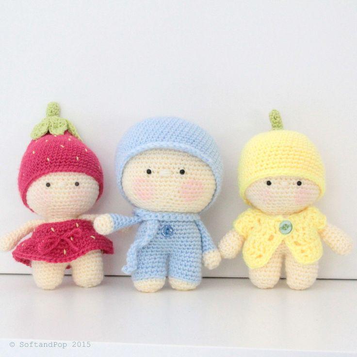 Ideas De Amigurumi : Amigurumis Les Minis : photo de famille amigurumis ...