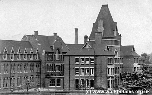 Birmingham workhouse Infirmary from the south-west, 1930s