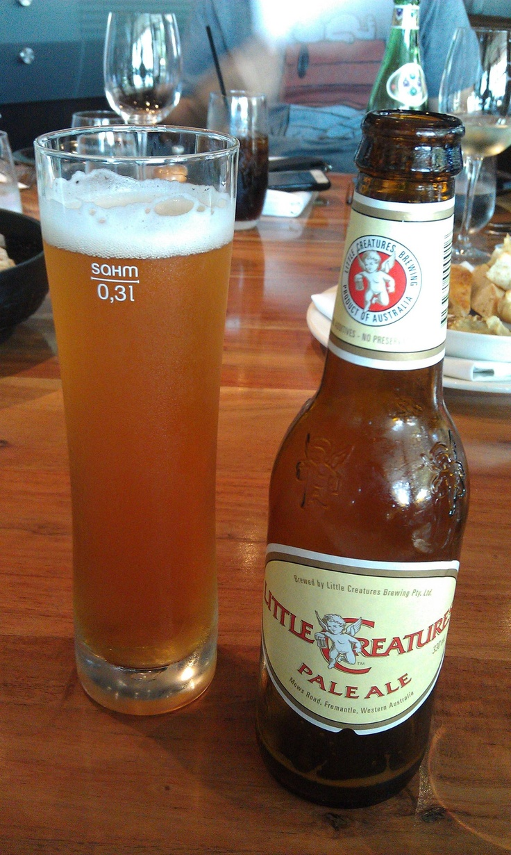 Love this beer - Little Creatures, Pale Ale, Fremantle, Australia - This place is awesome - Can't wait to visit again!!!