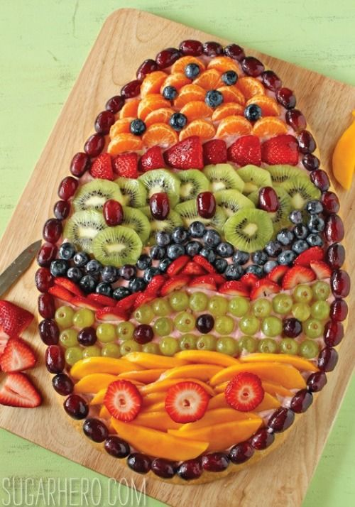 Get fruity this spring with a healthy pizza for a quick and easy dessert or lunch recipe the kids will love!