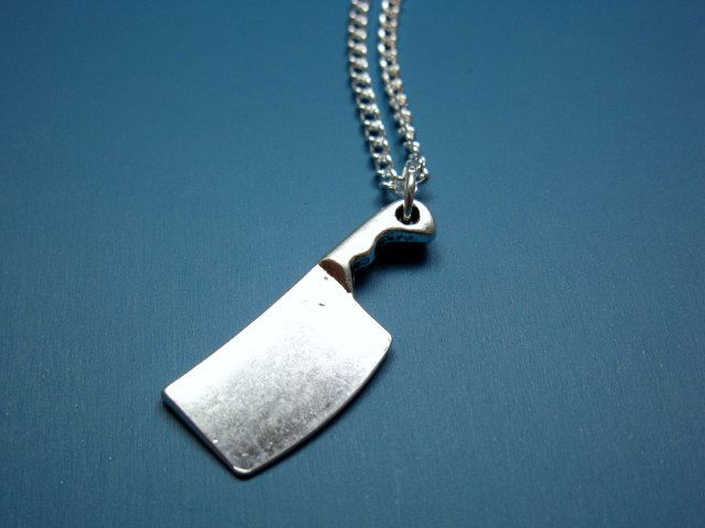 Freak Out Your Friends With the Butcher Knife Necklace - Foodista.com