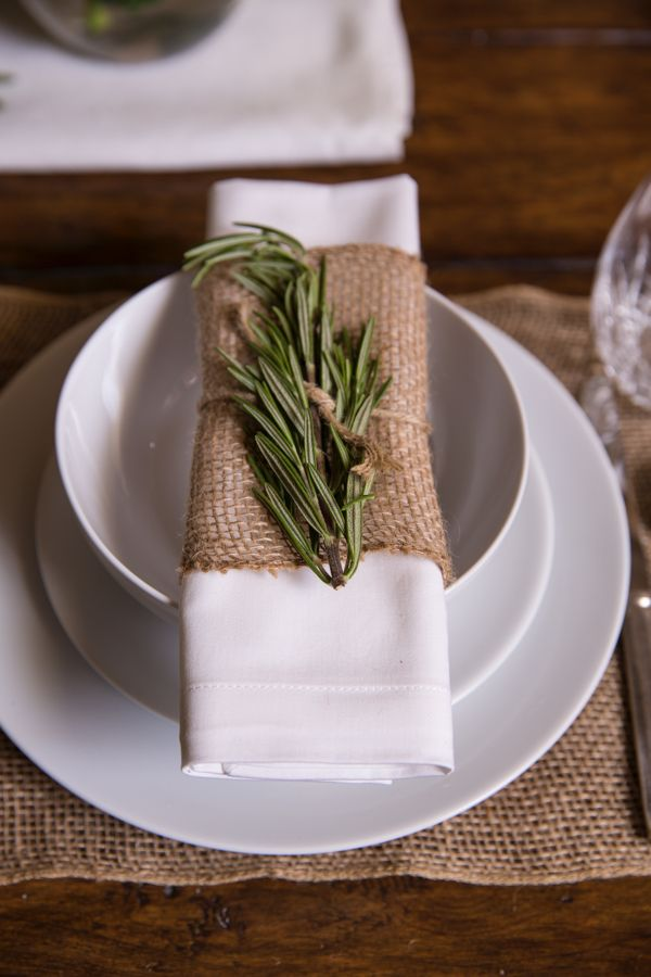 Clean Amp Simple Thanksgiving Tablescape Add A Burlap