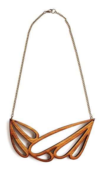 One Happy Leaf created eco-friendly bamboo wood jewellery.  #jewellery #ecofriendly #wood #lifeinstyle
