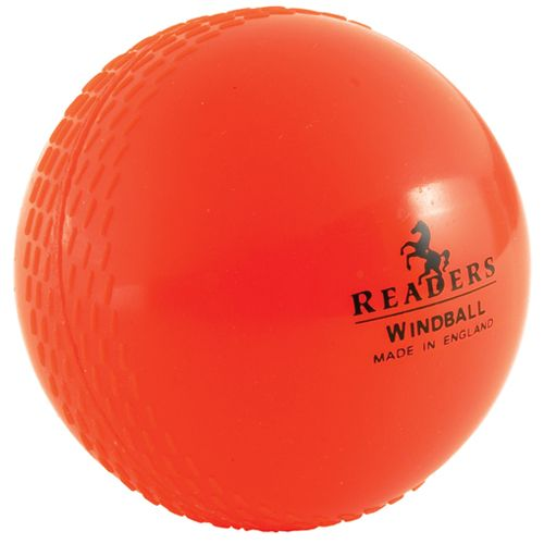Readers Windballs are just amazing value for money, excellent cricket training ball - we can't say enough good things about this best selling cricket windball on the market.  Sold in orange and pink colours.