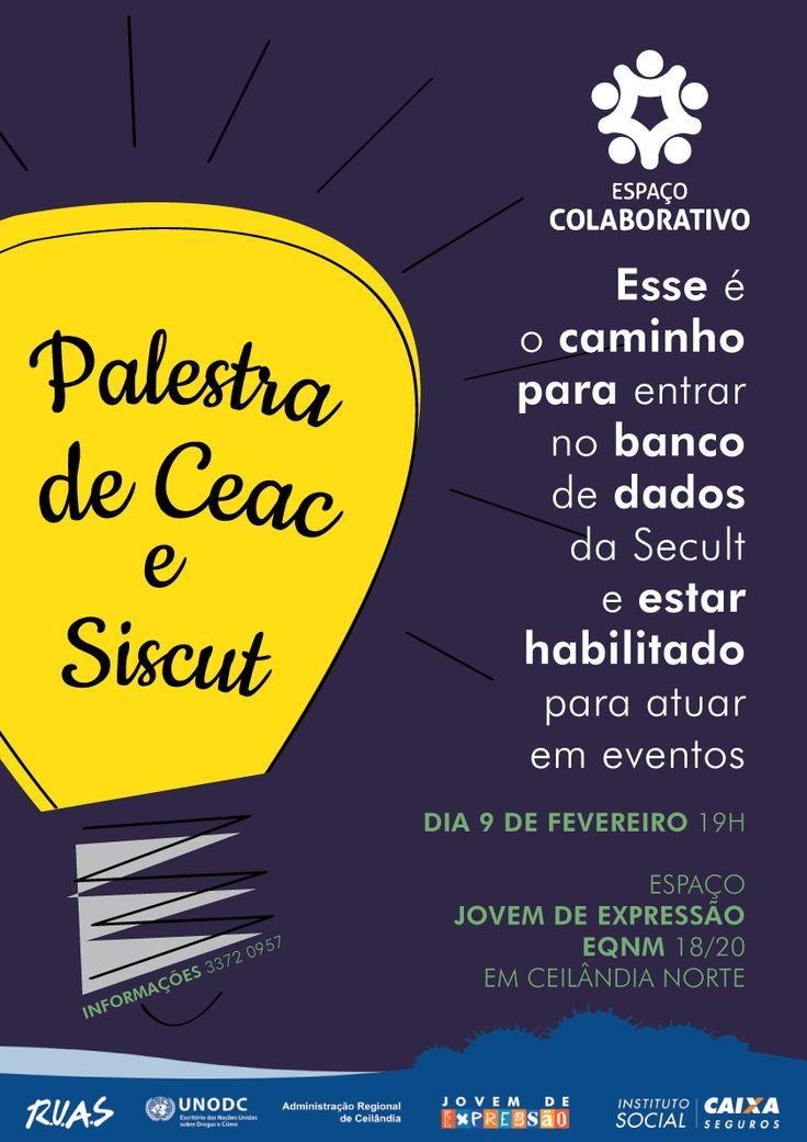 Palestra de Ceac e Siscut | Espaço Colaborativo