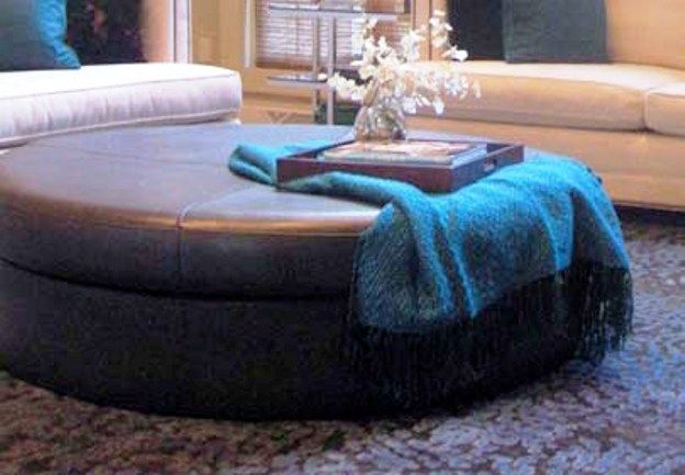 Large Round Ottoman Coffee Table 4