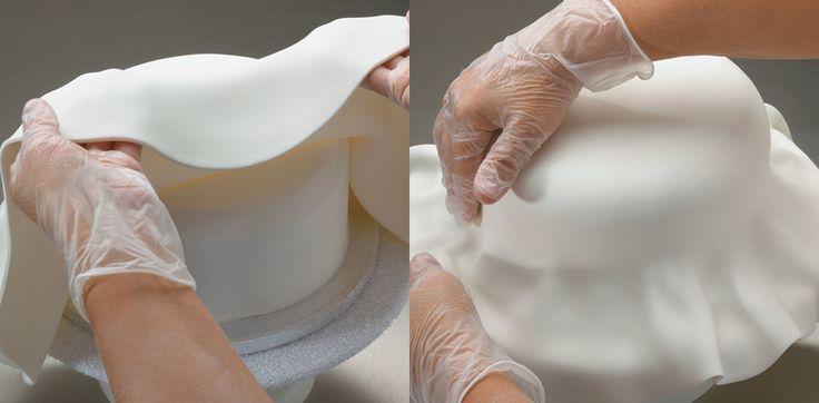 Cover a Round Cake with Fondant