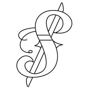 Inked Punctuation - Dollar Sign_image