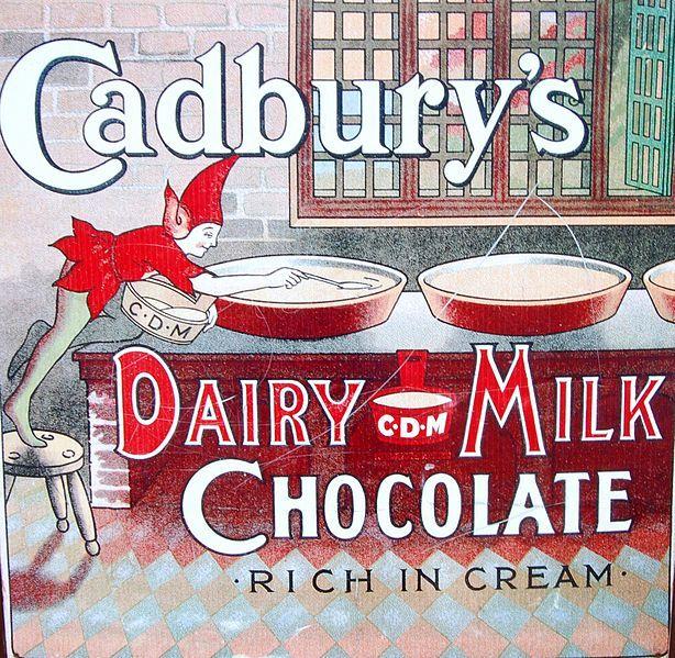 Vintage Advertising Posters | Cadburys Chocolate