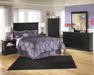 Ashley Maribel 4-Piece Queen Headboard Bedroom Set