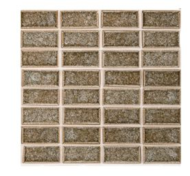 Crackle Glass Tile Mosaic Pinterest Tiles Backsplash And