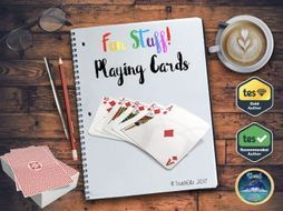 This resource is based on a standard deck of 52 playing cards. For this resource you require a deck of cards. <br /> <br /> You should then give every child in your class a card and use the random generator to select a card and the person with the chosen ...