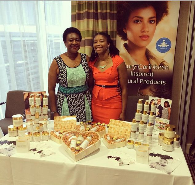 Alicia and Joliette at first United Kurls Lounge & Learn event