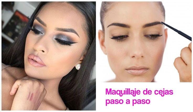 Cómo maquillar las cejas paso a paso