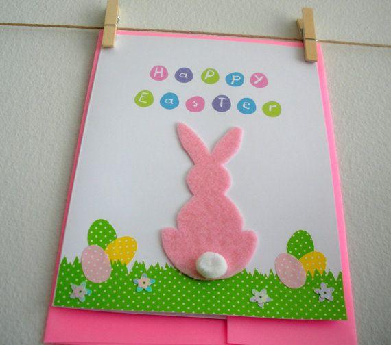 Handmade Easter Card from CartesdeBelleville on Etsy.com