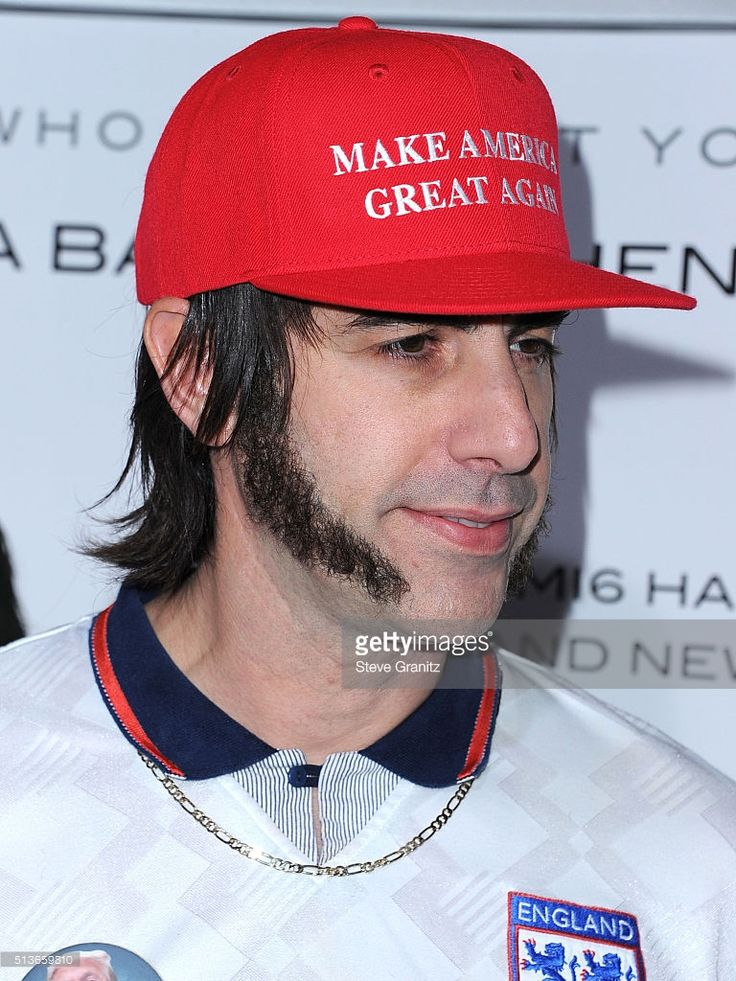 Sacha Baron Cohen arrives at the Premiere Of Columbia Pictures And Village Roadshow Pictures 'The Brothers Grimsby' at Regency Village Theatre on March 3, 2016 in Westwood, California.