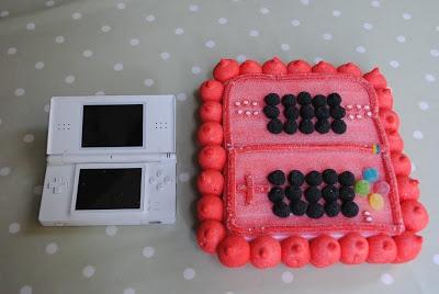 tarta de chuches Nintendo DSI