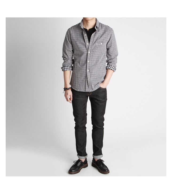 [AONE]이중지 양면 체크셔츠,남방-shirt27 - [존클락]30대 남자옷쇼핑몰, 깔끔한 캐쥬얼 데일리룩, 추천코디