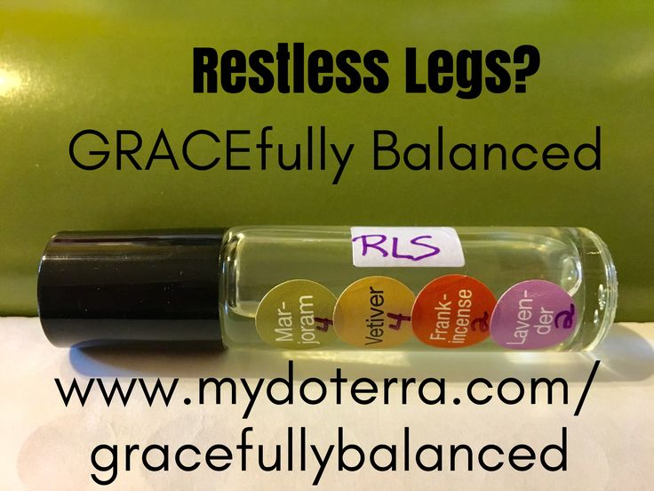 Restless Legs  Essential Oils GRACEfully Balanced