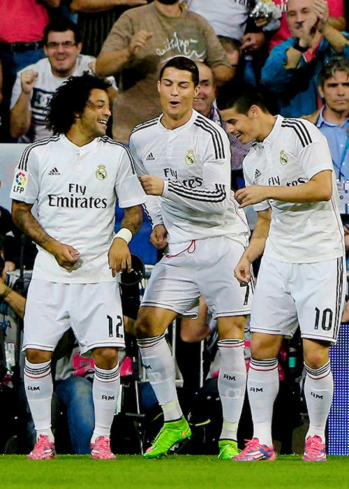 Ronaldo | Rodriguez | Marcelo these guys are what makes soccer hilarious