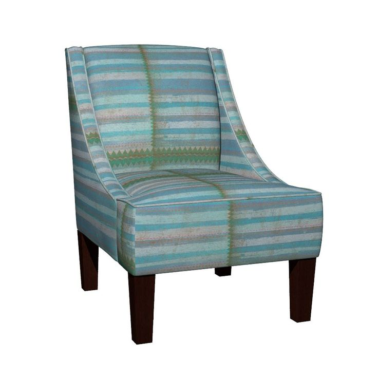 Venda Sloped Arm Chair featuring Beautiful Daydreams by susankweckesser | Roostery Home Decor
