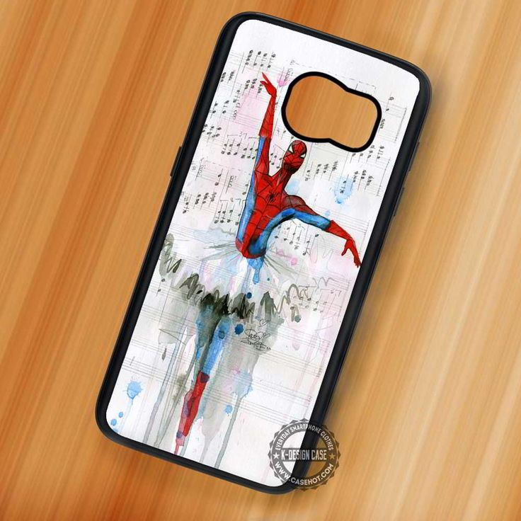 Ballet Spiderman - Samsung Galaxy S7 S6 S5 Note 7 Cases & Covers