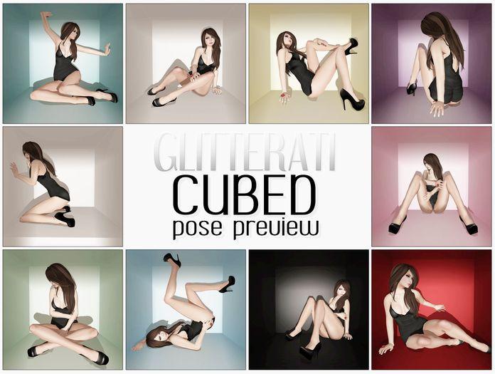 GLITTERATI - Cubed