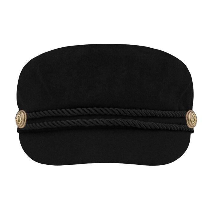 SAILOR CAP - BLACK | My Jewellery