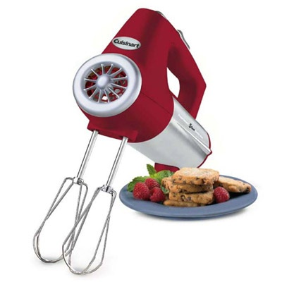 Cuisinart Electric Hand Mixer- Red