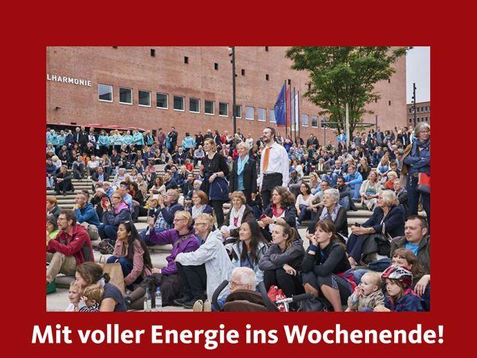 Elbphilharmonie Konzertkino: Umsonst und draußen