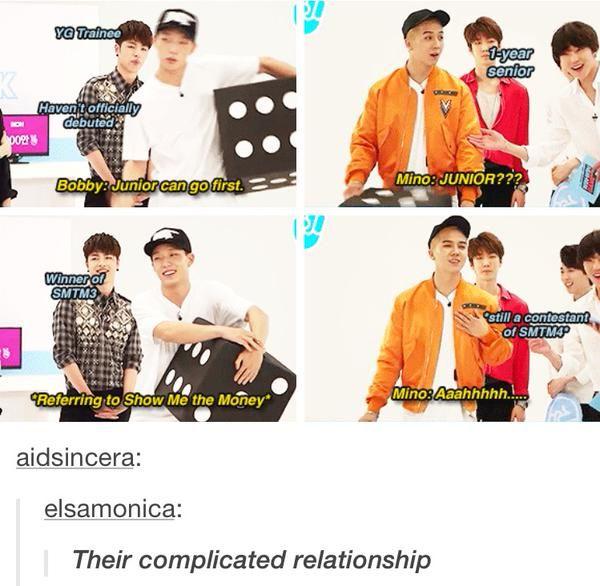 Winner-iKON relationship