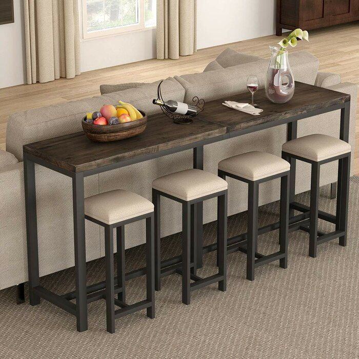 Boylon 70 9 Solid Wood Console Table In 2020 Sofa Table Decor Wood Console Table Wood Console