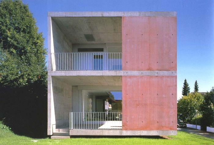 Haus Hürzeler, Peter Märkli. Erlenbach, Switzerland, 1997.