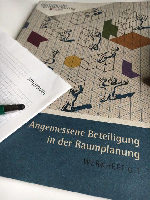 Neue Broschüre mit mprove-Input: Beteiligung in der Raumplanung