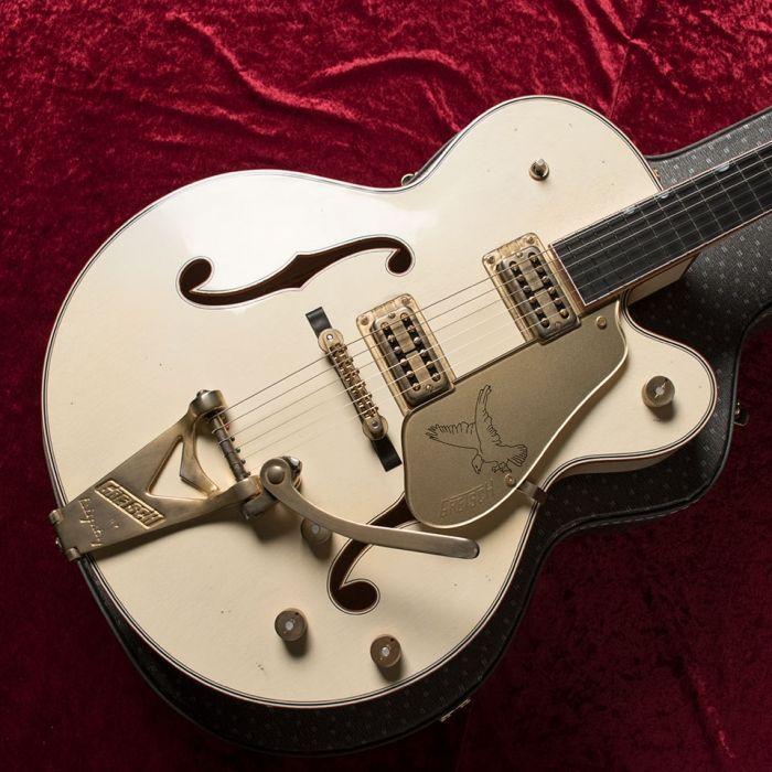 "Gretsch Custom Shop G6136TCS ""1958 BS Spec"" White Falcon !!   宮地楽器神田店 ギター・エフェクター"