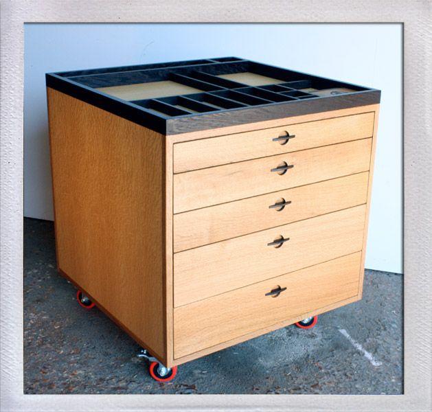 Art Cabinet Quarter Sawn White Oak, Wenge, And Oak Plywood. Handmade Drawer  Pulls, Hand Rubbed Polyurethane Finish Designed By Nick. Built By Josh,  2011 X X