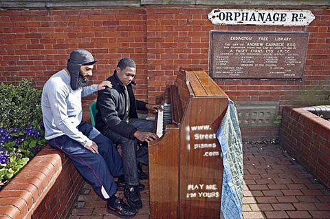 Birmingham's street piano project | UK news | guardian.co.uk