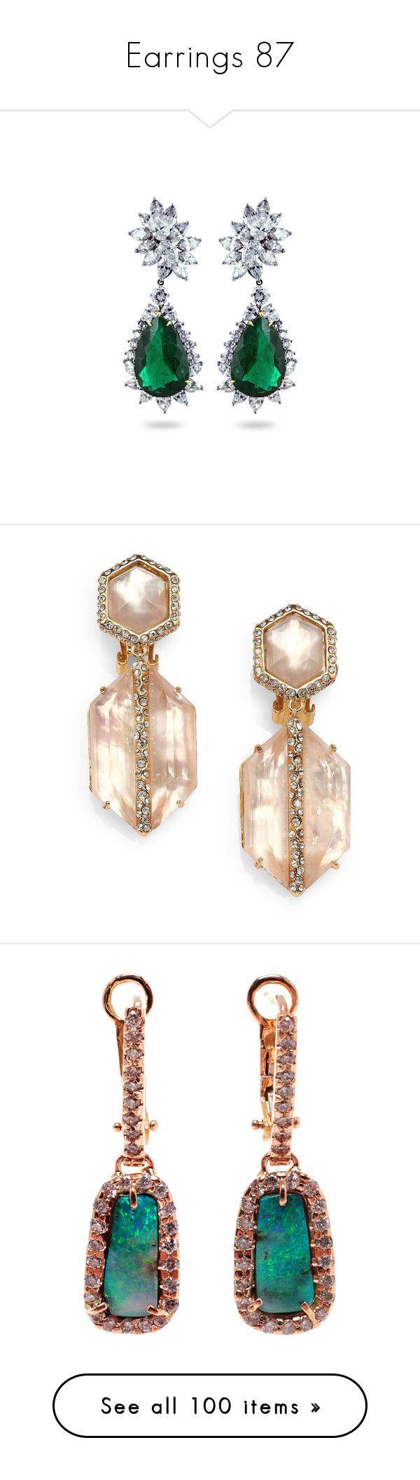 """Earrings 87"" by singlemom ❤ liked on Polyvore featuring jewelry, earrings, chanel, accessories, earring jewelry, chanel pendant, pendant jewelry, vintage jewelry, vintage pendants and brincos"