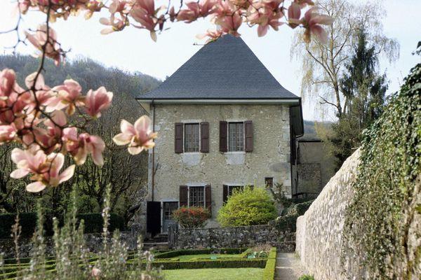 Les Charmettes où vécut Jean-Jacques Rousseau (près de Chambéry)