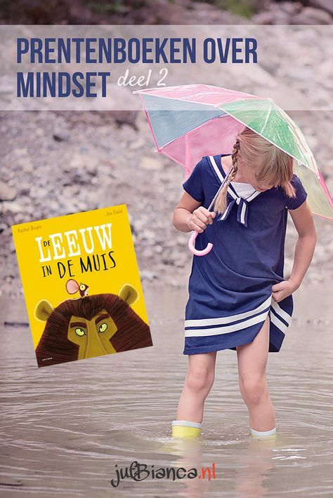 Het is soms lastig om kinderen de juiste mindset, een zogenaamde groei mindset, aan te laten nemen. Vooral slimme kleuters hebben hiermee te maken. Ze zijn zo gewend dat ze alles kunnen, dat iets nieuws proberen of iets oefenen lastig is. In deze serie wil ik prentenboeken bespreken die kunnen leiden tot een gesprek over mindset. Vandaag is De leeuw in de muis aan de beurt. En nee, dat is geen typefout.