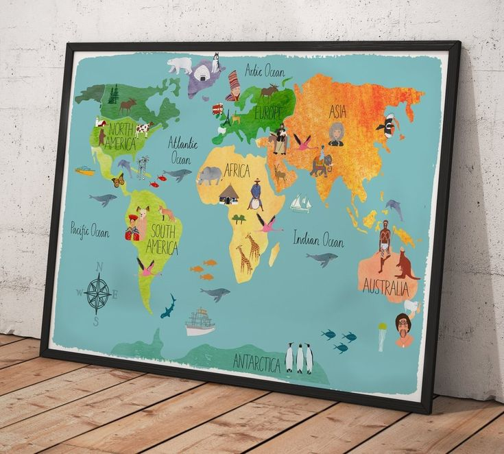 102 best world map wall arts images on pinterest contemporary wall contemporary wall decor by zellartco free shipping art decor walldecor worldmap gumiabroncs Choice Image