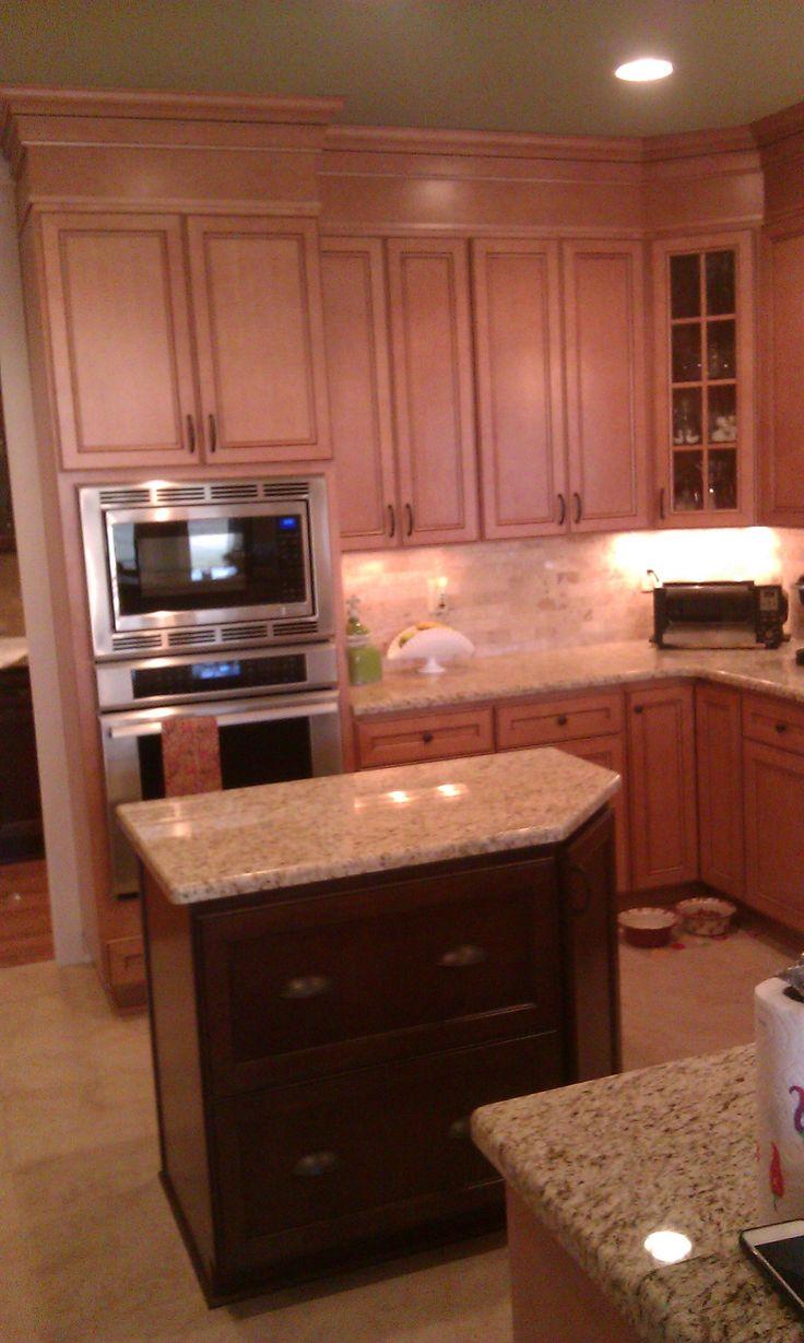 Kitchen cabinet, Island - Homecrest cabinetry, Eastport ...