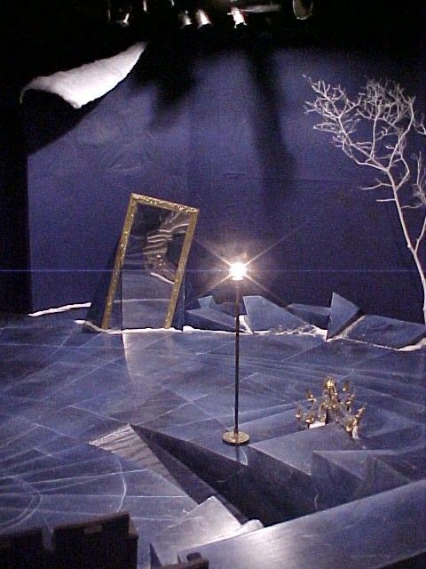 Art director essay prepares seven theater