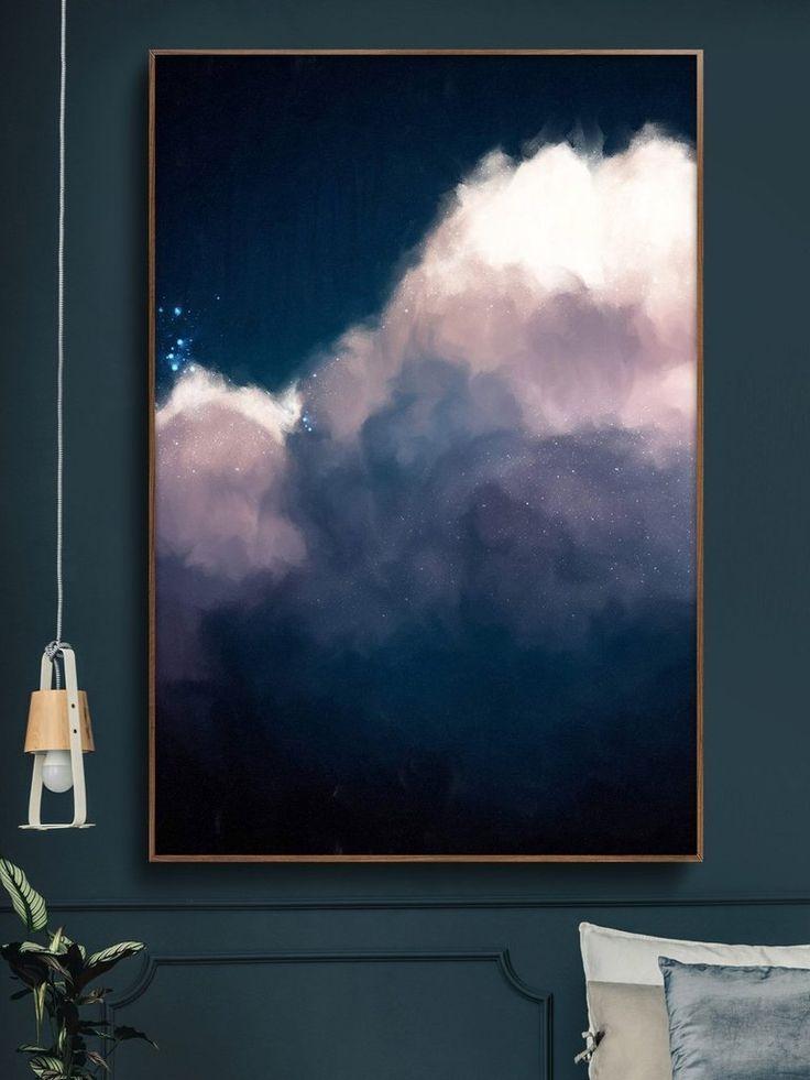 """""""Intrépide No. 1"""" Cloud Painting – #Cloud #Intré…"""