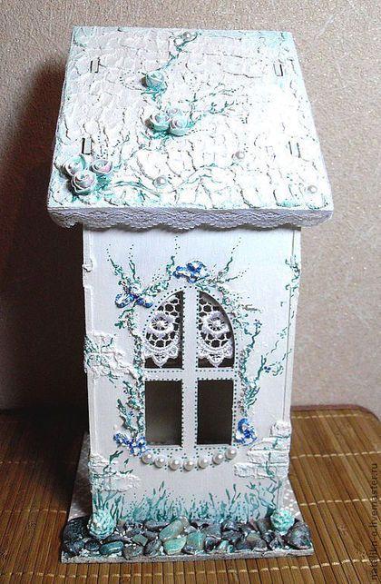 """Кухня ручной работы. Ярмарка Мастеров - ручная работа Чайный домик с прир. камнями """"Два в одном"""". Handmade."""